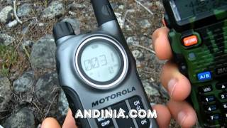 Cómo comunicar Handy con Walkie-talkie - How-to comunicate radio HF - Walkie-talkie - Pt. 2 de 2