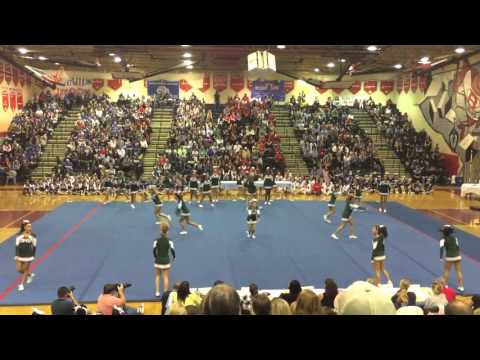 Damascus High School Cheerleading Competition 2015