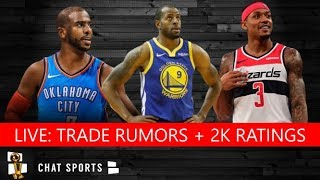 NBA Now - Live NBA News With Tom Downey & Jimmy Crowther (July 17)