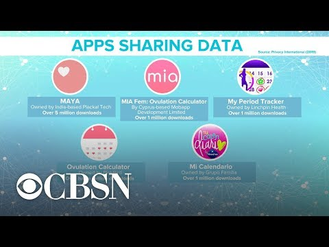 Report: Popular period-tracking apps share data with third parties