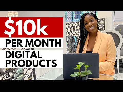 THE BEST way to MAKE MONEY ONLINE (with a $0 investment)   Digital Product Ideas