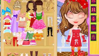 Маленькая Хелен готовится к рождеству! Видео для девочек!