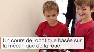 La roue en robotique - cursus Algora 6/9 ans