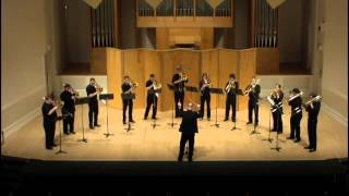 University of Oregon Trombone Choir - Prelude in C# minor - Serge Rachmaninoff
