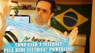 Como usar a Internet pela rede elétrica? Powerline!
