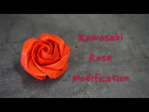 Origami Tutorial: Kawasaki Rose modification (DreamYourWonders)|Hello Malinda