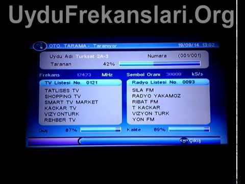 Türksat Uydularda Kanal Güncelleme ve Kurulumu Nasıl Yapılır