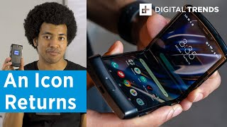 Motorola Razr Hands on Review   Innovation and Nostalgia