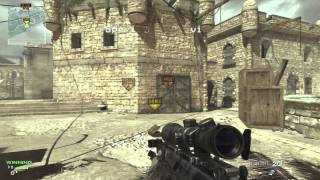 MW3 Seatown SND Throwing Knife Tutorial / Throwing Knife Bomb Spots