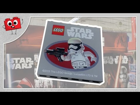 Star Wars Force Friday - Toys-R-Us Exclusive - First Order Trooper LEGO Brick