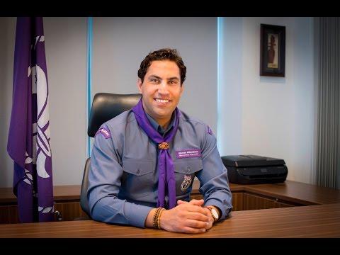 Ahmad Alhendawi, Secretary General of WOSM 1st Message