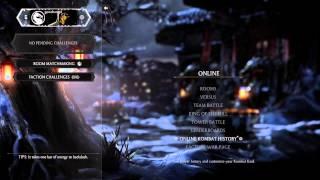 Mortal Kombat X Online (PS4) gameplay part 1