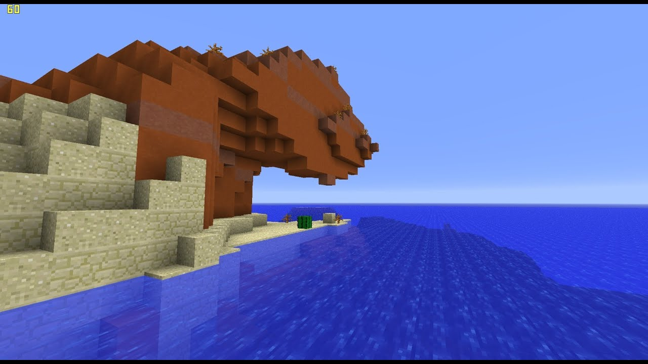 Minecraft 1 7 Snapshot Deep Oceans Biome Adventure