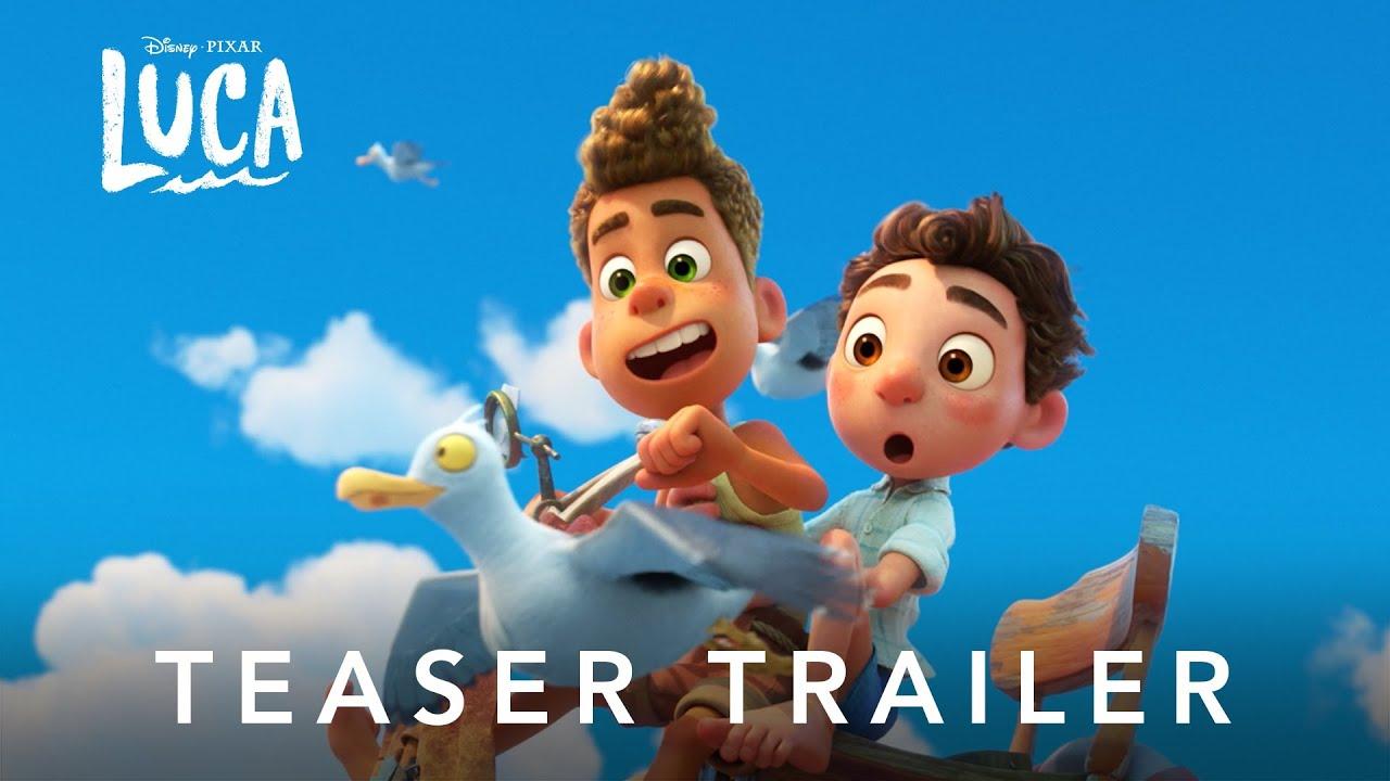 Eerste Luca teaser door Disney & Pixar