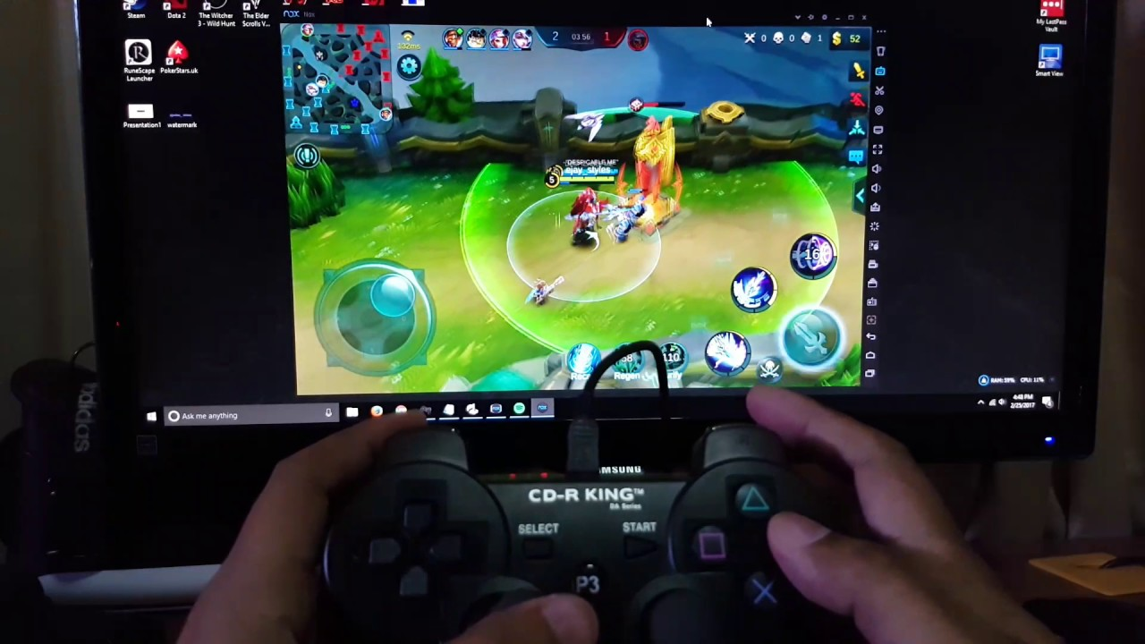 how to add mobile control to pc game unity