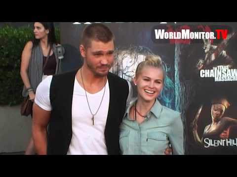 Chad Michael Murray and Kenzie Dalton at 2012 Halloween Horror Nights Eyegore Awards