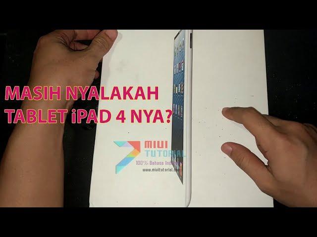 Re-Unboxing Tablet Apple iPad 4 Lawas: Benarkah Kondisinya Masih Bagus | Video Barang Bukti