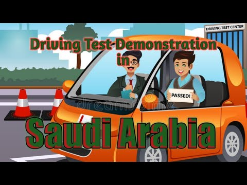 Saudi Arabia Driving test Demo