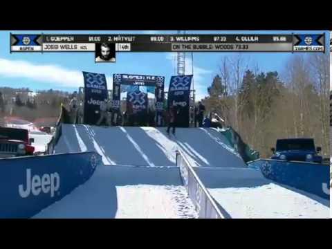 Men's Ski Slopestyle Eliminations X Games Aspen 2014Full HD 2