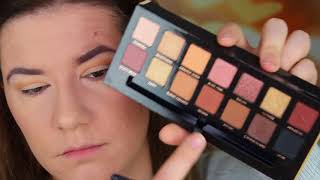 Soft Glam Palette and Amrezy Hoghlighter REVIEW AND MAKEUP LOOK