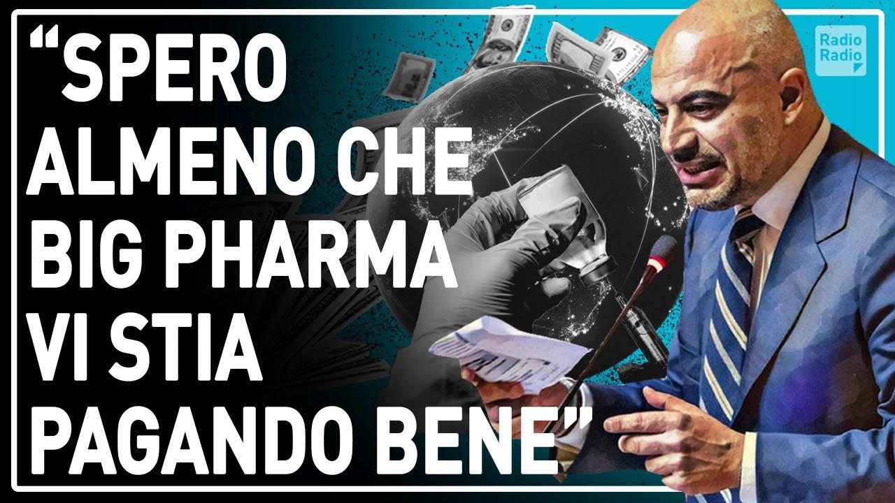 """PARAGONE TRAVOLGENTE IN SENATO ▷ """"STATE SPINGENGO AL VACCINO DI STATO: GREEN PASS È IL VOSTRO ALIBI"""""""