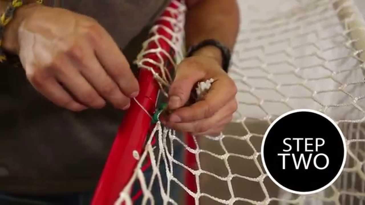 666418e6f6a Traditional Mesh  Hockey Net Assembly by WINNWELL HOCKEY - YouTube