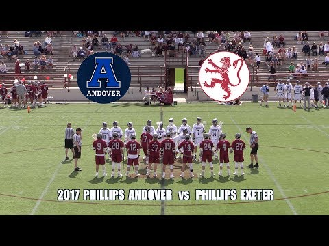 2017 Phillips Academy Andover Lacrosse vs  Phillips Exeter