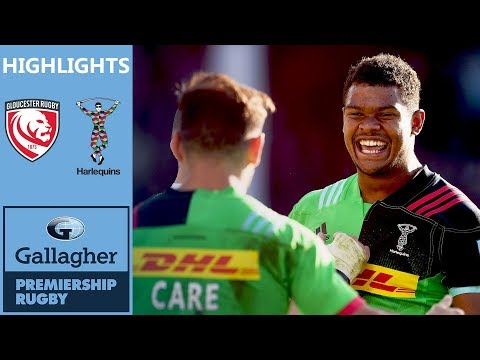 Gloucester v Harlequins | Earle Bags Brace at The Shed | Gallagher Premiership