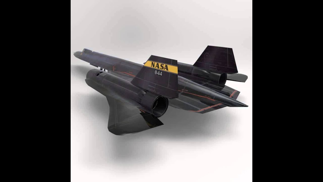 SR-71 Spyplane 3D Model .obj .3ds - CGTrader.com