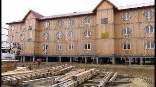 В Тольке строят многоквартирные деревянные дома-конструкторы по немецкой технологии
