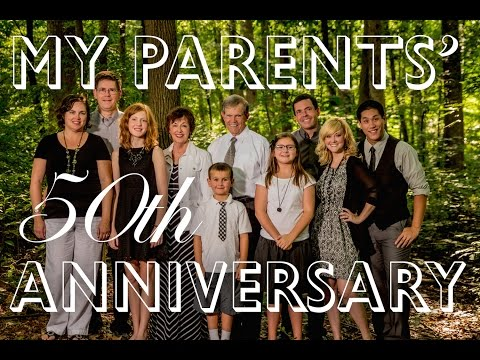 Surprise Original Song for My Parents 50th Anniversary!