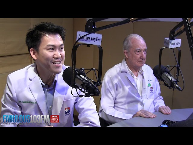 Bangkok Hospital Pattaya LIVE on Fabulous 103fm / Covid-19 Coronavirus & Erectile Dysfunction