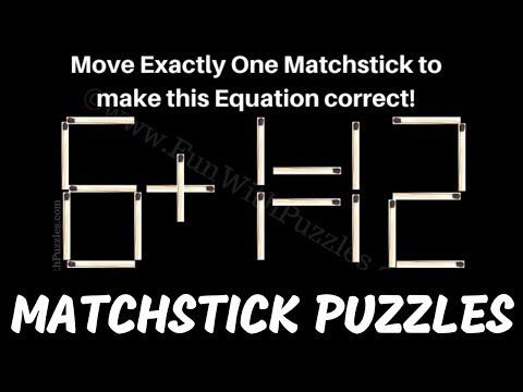 Matchstick Math Puzzles