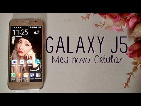 Samsung Galaxy J5 ♥ Meu novo Celular