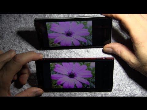 Sony Xperia T: Hands-On und Vergleich mit dem Xperia Ion