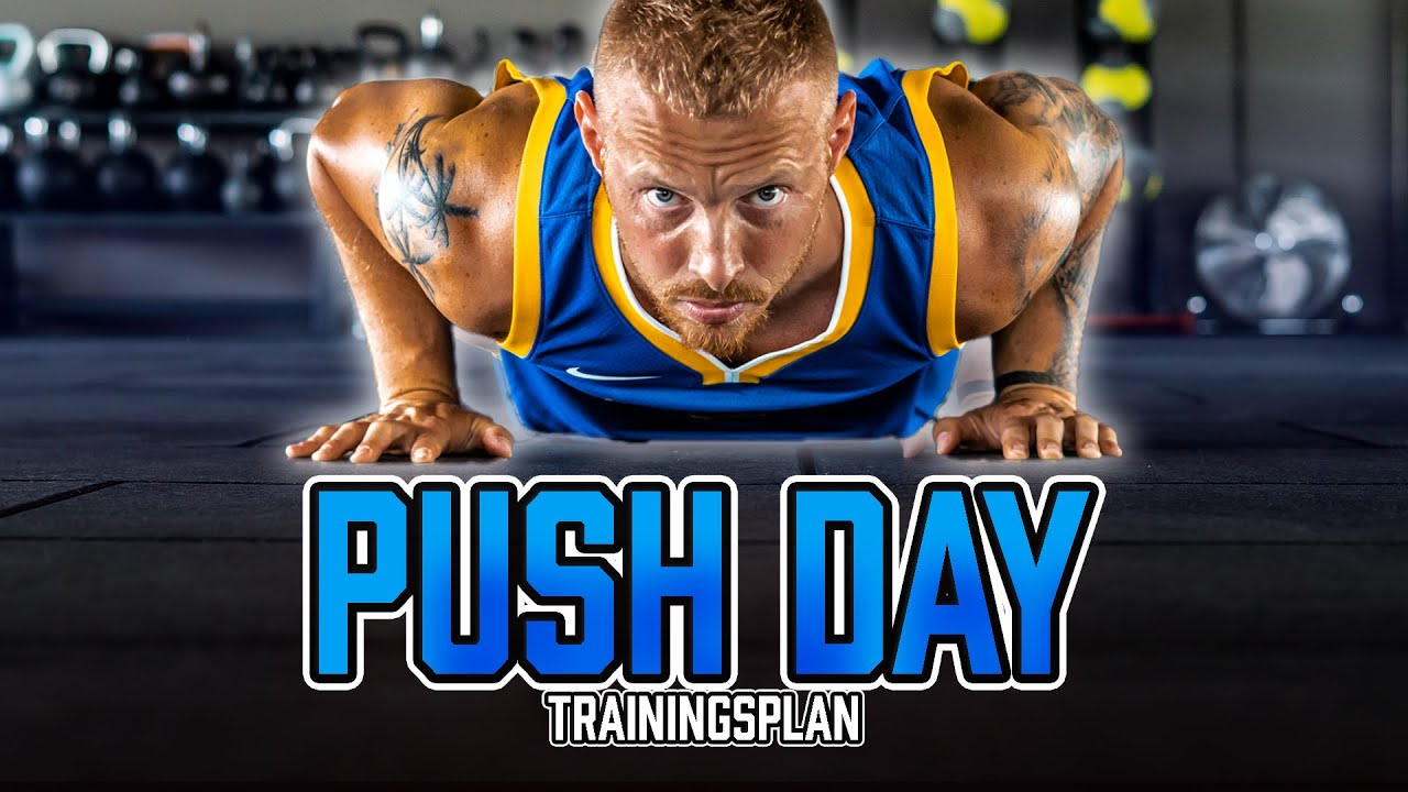 Mit nur 3 Übungen die BRUST ZUHAUSE TRAINIEREN | Push Day Trainingsplan mit Bodyweight Übungen
