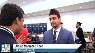 America's largest Muslim Convention - Ahmadiyya spokesperson Amjad Mahmood Khan