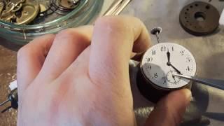Обзор ремонта старинных часов -