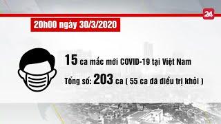 Toàn cảnh phòng chống dịch COVID 19 ngày 30/3/2020 | VTV24