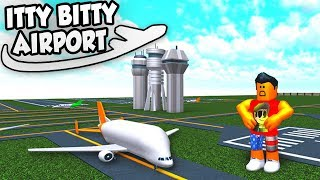 BELUGA PLANES in Roblox Itty Bitty Airport #5