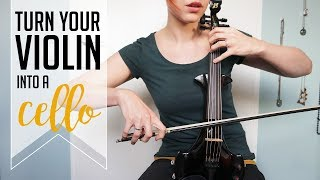 Cello like a boss | octave strings on your violin