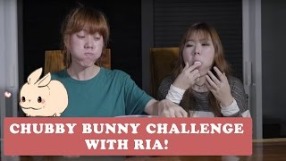 Chubby Bunny Challenge ft. RIA MAMI TIRI PD NIM
