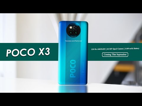 Poco X3 In India First Look Specifications Revealed Youtube