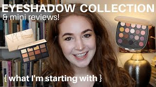 EYESHADOW COLLECTION | Hannah Louise Poston | MY NO-BUY YEAR