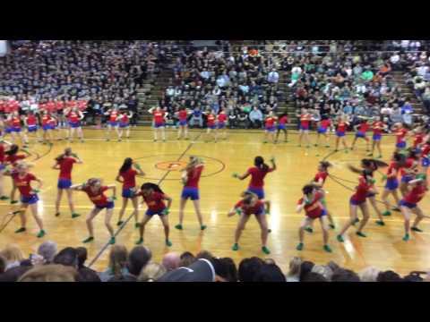 Pennsbury High School Sports Nite 2017 Rio Dance