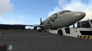 X-Plane 737-200 Twinjet, Fly J Sim and a Multi Crew Experience