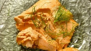 Grilled Salmon/trout Recipe