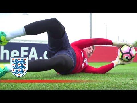 Reflex, Technique & Vision - England U21 Goalkeeper Special | Inside Training