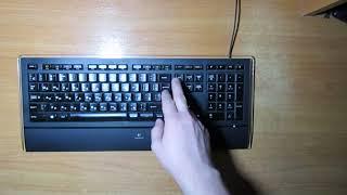 оНЛАЙН ТРЕЙД.РУ  Клавиатура Logitech Illuminated Keyboard K740 Black USB (920-005695)