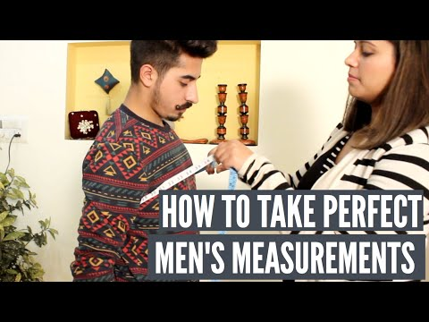 Taking Body measurement for men | Indian Ethnic wear | GetEthnic com
